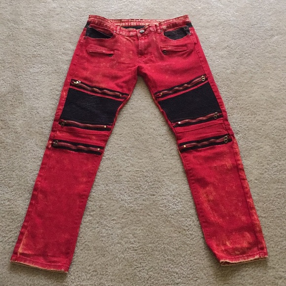 5bf24acc bie pa paris Other - Sosoo jeanswear BiePa Paris motorcycle style Jean